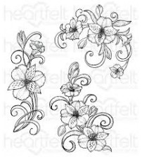 Heartfelt creations - Sunrise Lily Swirls