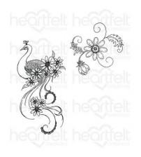 Heartfelt creations - Peacock Swirls