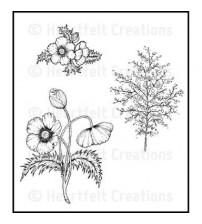 Heartfelt creations - Blazing Poppy Fillers