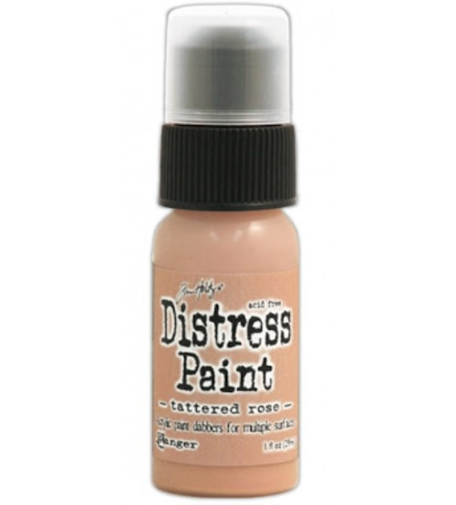 Ranger Distress Paint - Tattered Rose