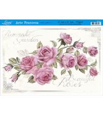 Litoarte - Arte Francesa - Rosa