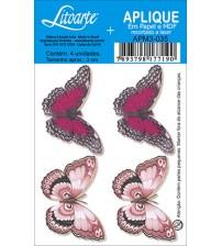 Litoarte - Aplique - Borboleta