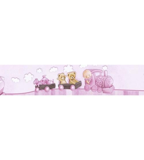 Litoarte - Adhesive Bar - Pink Baby girl