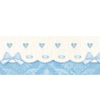 Litoarte - Adhesive Bar - Income , Lacinhos , & Blue Hearts