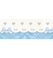 Litoarte - Adhesive Bar - Income , Lacinhos , & Blue Hearts