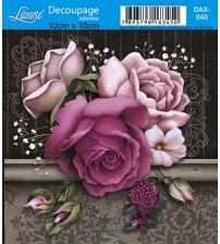 Litoarte - Decoupage Adesivo - Rosas