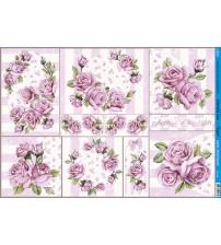 Litoarte - Decoupage - Rose Shabby Chic