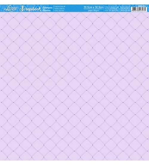 Litoarte - Scrapbook - Botones Lilas