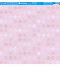 Litoarte - Scrapbook - Estampa Botone Rosa