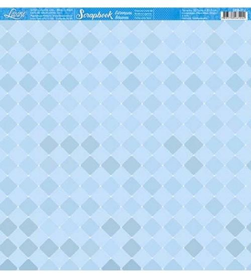 Litoarte - Scrapbook - Estampa Botone Azul