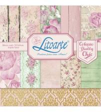 Litoarte - Adhesive Bar - Shabby Chic Roses