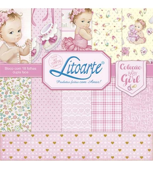 Litoarte - Adhesive Bar - Female Baby