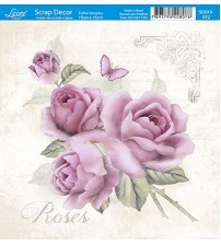 Litoarte  - Scrap Decor -  Vintage Roses