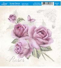 Litoarte  - Scrap Decor -  Vintage Roses