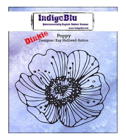 IndigoBlu Stamps - Dinkie Poppy