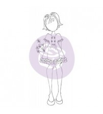 "Prima -Julie Nutting - Cling Stamp - ""Keira"""