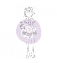 """Prima -Julie Nutting - Cling Stamp - """"Keira"""""""