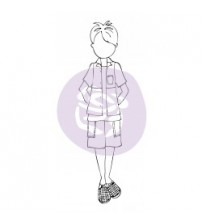 Julie Nutting-Doll Stamp -Hunter