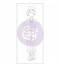 Prima - Julie Nutting-Doll Stamp - Tommy