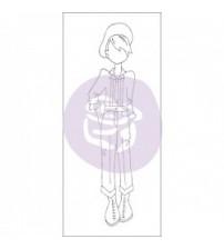 Julie Nutting-Doll Stamp - Tommy