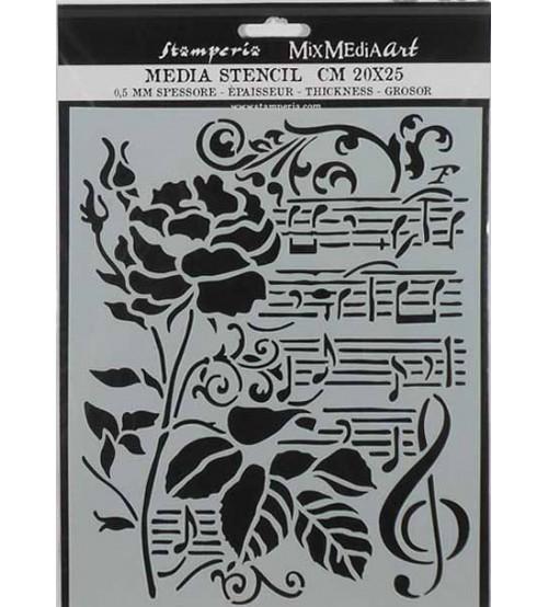 Stamperia Mix Media Art Stencils - KSTD032 - 20x25cm