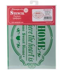 Stamperia Stencils - KSD266 - 15x20cm