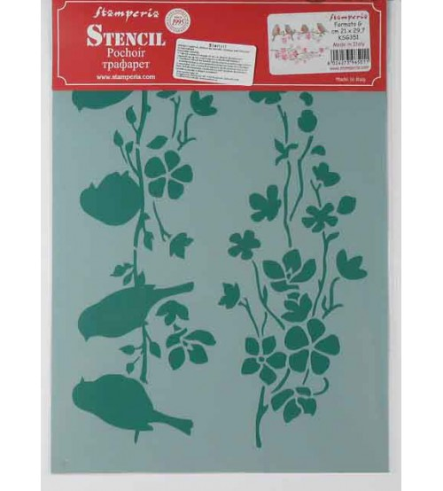 Stamperia Stencils - KSG351 - 21x29.7cm