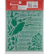 Stamperia Stencils - KSG416 - 21x29.7cm