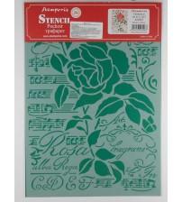 Stamperia Stencils - KSG419 -21x29.7cm