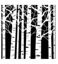 Stencils - Mini Aspen Trees