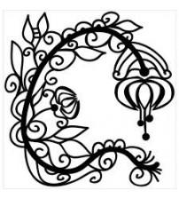 Stencils - Mini Graceful Flower