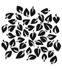 Stencils - Mini Dancing Leaves