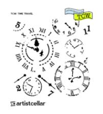 Stencils - Mini Time Travel