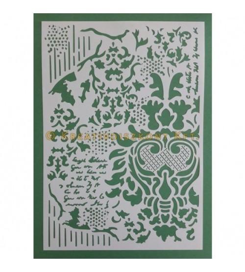 Stamperia Stencils - KSG405 - 21x29.7cm