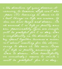 Stencils - Script