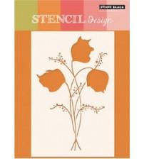 Stencils - Penny Black - Floral Spray