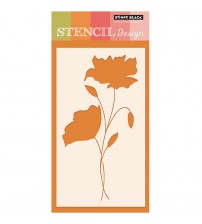 Stencils - Penny Black - Intertwined