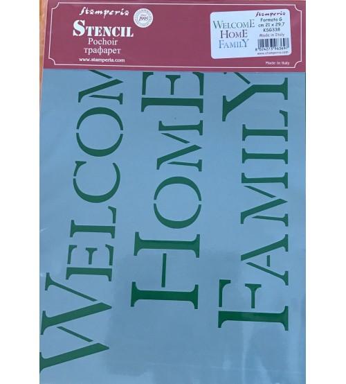 Stamperia Stencils - KSG338 - 21x29.7cm