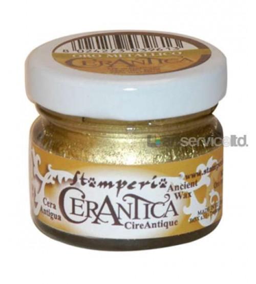 Decoupage Stamperia - Cerantica - Oro Metallico