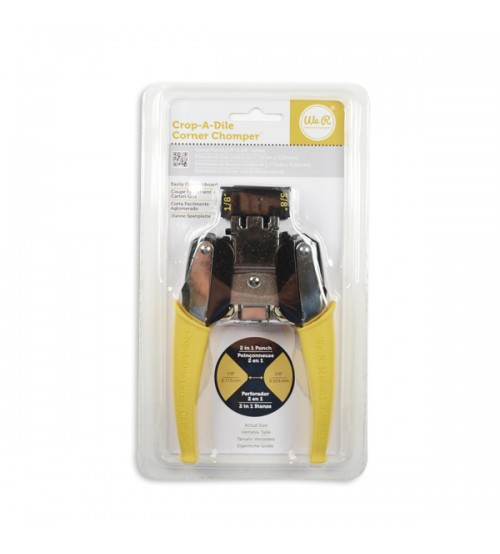 We R Memory Keepers - Crop - A - Dile - Corner Chomper (Yellow)