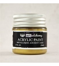 Prima - Art Alchemy Acrylic Paint - Metallic Ancient Coin