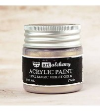 Prima - Art Alchemy Acrylic Paint - Opal Magic Violet Gold