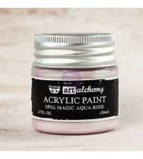 Prima - Art Alchemy Acrylic Paint - Opal Magic Aqua Rose