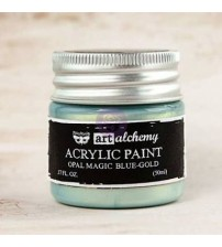 Prima - Art Alchemy Acrylic Paint - Opal Magic Blue Gold