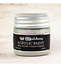 Art Alchemy Acrylic Paint - Opal Magic Violet Green