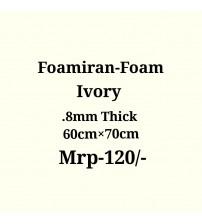 Foamiran - 0.8mm - Ivory