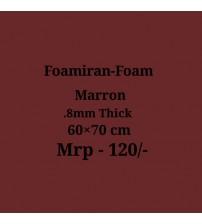 Foamiran - 0.8mm - Marron