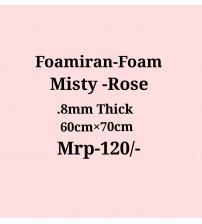 Foamiran - 0.8mm - Misty Rose