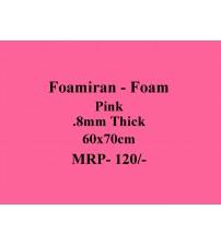 Foamiran - 0.8mm - Pink