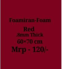 Foamiran - 0.8mm - Red